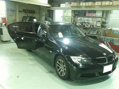 BMWのカーフィルム施工